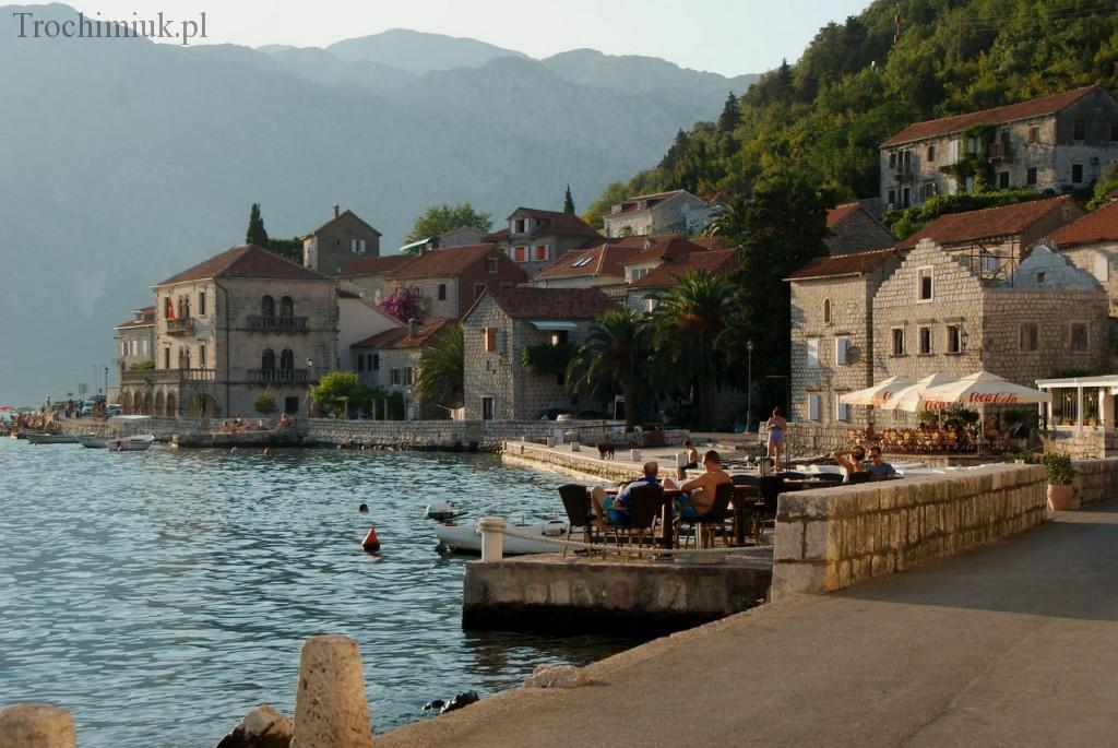 Czarnogóra, Perast. Fot. Piotr Trochimiuk, 2013