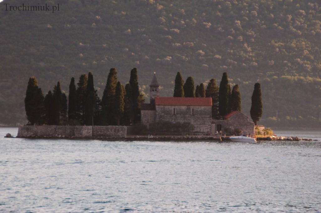 Czarnogóra, Perast, wyspa Sveti Đorđe. Fot. Piotr Trochimiuk, 2013