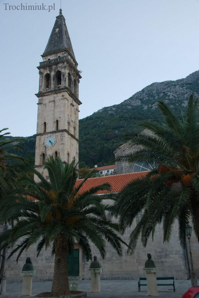 Czarnogóra, Perast, Kościół Św. Michała. Fot. Piotr Trochimiuk, 2013