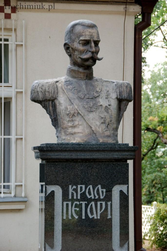 Serbia, Oplenac, Król I Karadżordżewicz. Fot. Piotr Trochimiuk 2013