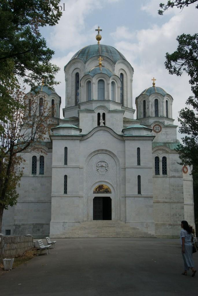 Serbia, Oplenac, cerkiew Św, Jerzego. Fot. Piotr Trochimiuk
