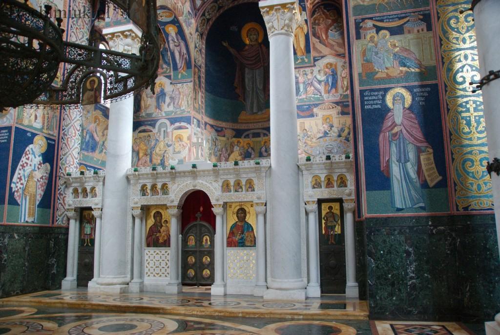 Serbia, Oplenac, cerkiew Św. Jerzego. Fot. Piotr Trochimiuk 2013
