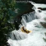 Rafting na rzece Una, Bośnia i Hercegowina. Fot. Piotr Trochimiuk 2013