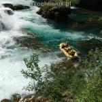 Rafting on the Una River, Una National Park, Bosnia and Herzegovina. Piotr Trochimiuk 2013