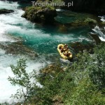 Rafting on the Una River, Una National Park, Bosnia and Herzegovina. Piotr Trochimiuk 2013