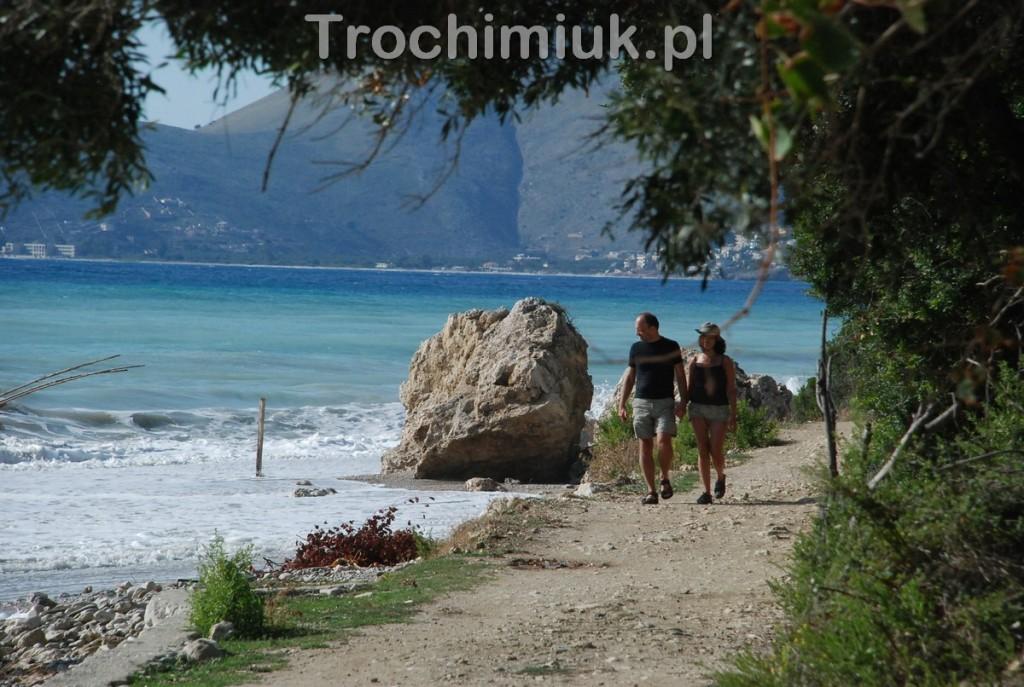 Albania, morze Jońskie. Fot. Grzegorz Trochimiuk, 2014